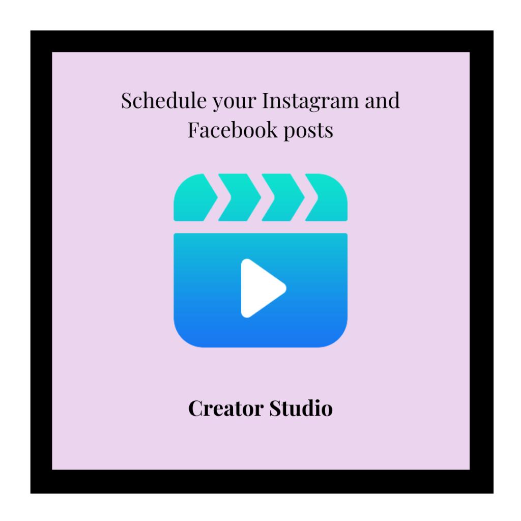 Creator Studio logo and link