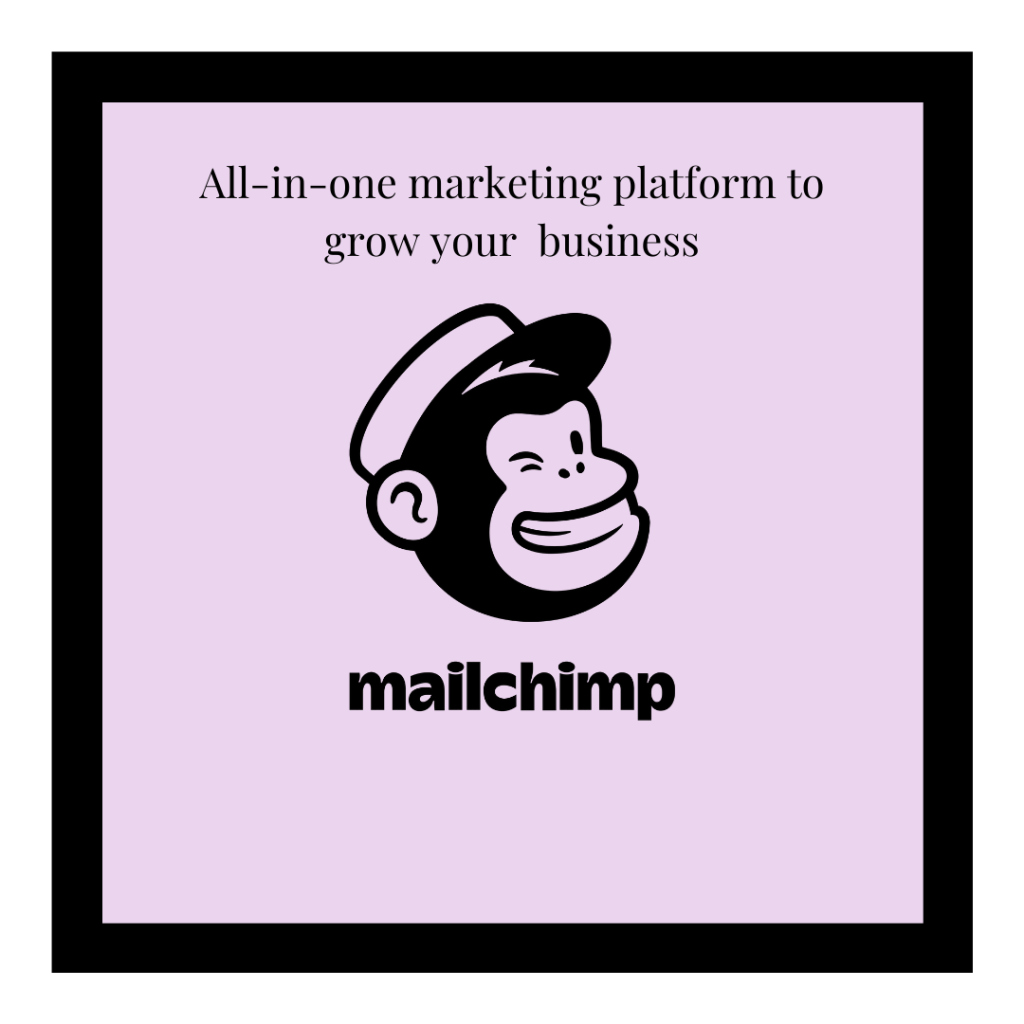 Mailchamp logo and referral link